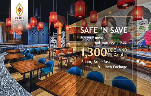 Save big on your room, breakfast and dinner with the The Safe n' Save promotion